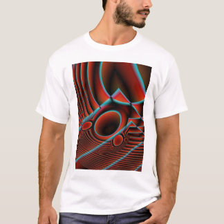 Red wormhole beckons T-Shirt
