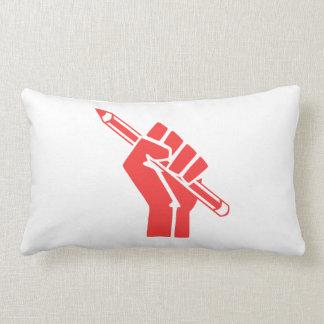 Red Writer Power Pillow