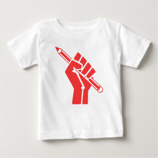 Red Writer Power T-shirts