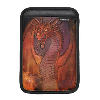 Red wyvern fire iPad mini sleeve