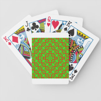 red x bicycle playing cards