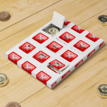 Red X Button Chocolate Countdown Calendars