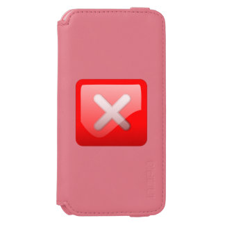 Red X Button Incipio Watson™ iPhone 6 Wallet Case
