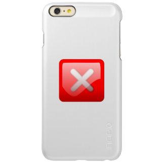Red X Button Incipio Feather® Shine iPhone 6 Plus Case