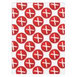 Red X - No / Incorrect Symbol Tablecloth