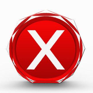 Red X - No - Symbol Awards