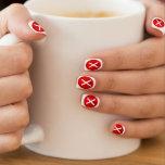 Red X - No - Symbol Minx ® Nail Wraps