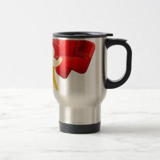 Red X person Mug