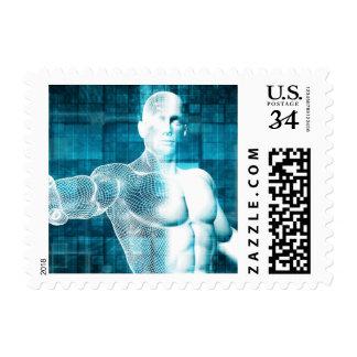 Red y protección de datos de la seguridad estampilla