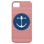 Red Yacht Club Pattern iPhone 5 Case