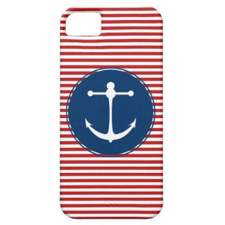 Red Yacht Club Pattern iPhone SE/5/5s Case