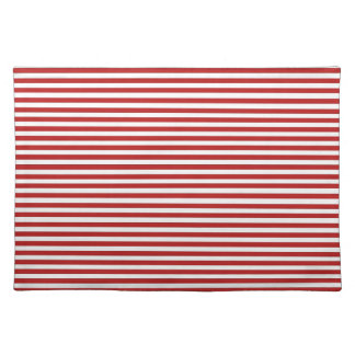 Red Yacht Club Pattern Placemat