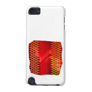 Red Yellow Abstract Stairs Cutout Picture iPod Touch (5th Generation) Cover