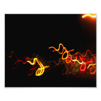 Red Yellow And Orange Lights Photo