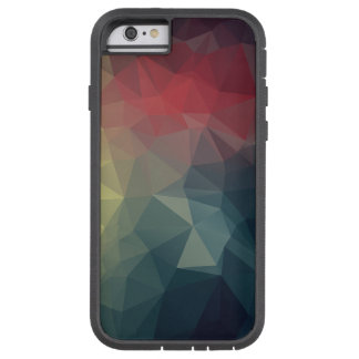 Red Yellow Blue Abstract Pyramid Art Tough Xtreme iPhone 6 Case