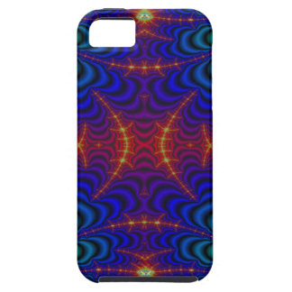 Red Yellow Blue Green Wormhole Fractal iPhone 5 Cover