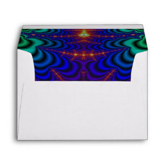 Red Yellow Blue Green Wormhole Fractal Envelope