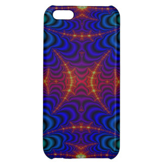 Red Yellow Blue Green Wormhole Fractal iPhone 5C Cover