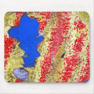 Red Yellow Blue Mouse Pad