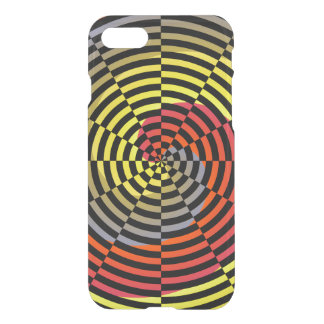 Red Yellow Blue Spiral by Kenneth Yoncich iPhone 7 Case