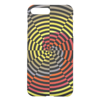 Red Yellow Blue Spiral by Kenneth Yoncich iPhone 7 Plus Case