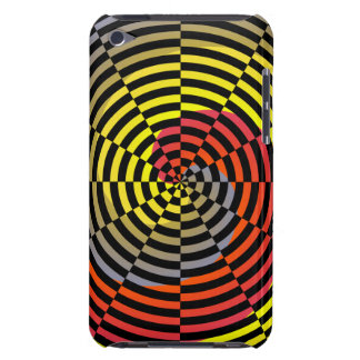 Red Yellow Blue Spiral Case-Mate iPod Touch Case