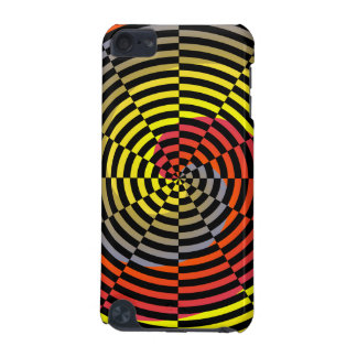Red Yellow Blue Spiral iPod Touch (5th Generation) Cover