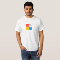 Red Yellow Blue Squares T-Shirt