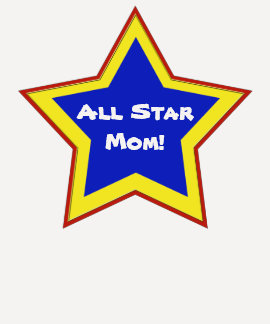 Red Yellow Blue Star Mom Shirt
