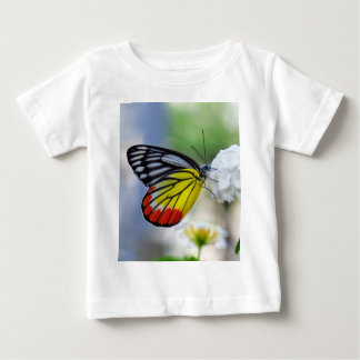 Red yellow butterfly Painted Jezebel Baby T-Shirt