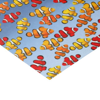 "Red Yellow Clown Anemone Fish Tissue Paper 15"" X 20"" Tissue Paper"