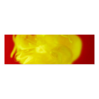 Red Yellow Fire Ink Drop Photography Business Card Templates