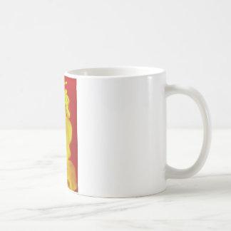 Red Yellow Fire Ink Drop Photography Coffee Mug