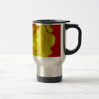 Red Yellow Fire Ink Drop Photography Travel Mug