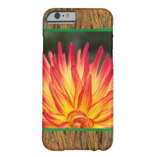 Red Yellow Flower on Bark Barely There iPhone 6 Case