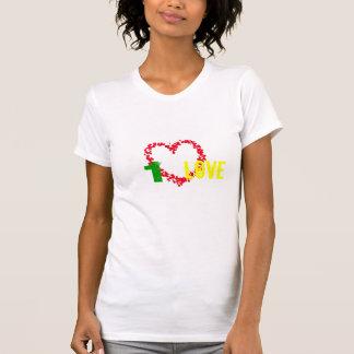 Red-Yellow-Green 1 Love Shirt