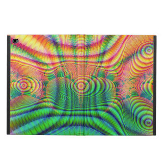 Red Yellow Green Fractal 7 Powis iPad Air 2 Case