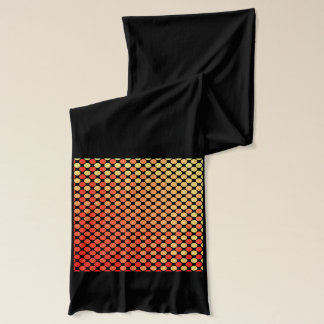 Red Yellow Mash-Up Scarf