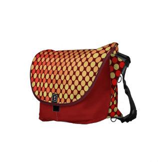 Red Yellow Mash-Up Shoulder Bag Messenger Bags