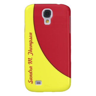 red yellow mod circle samsung galaxy s4 cover