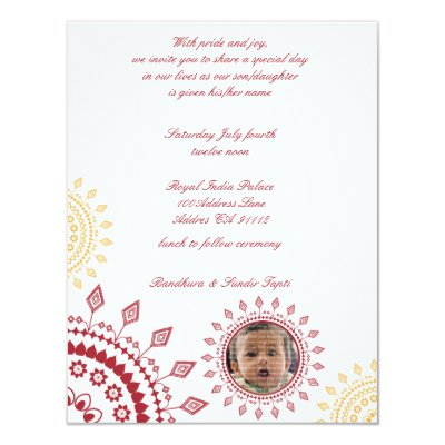 Namkaran Baby Naming Invitations Zazzle Com