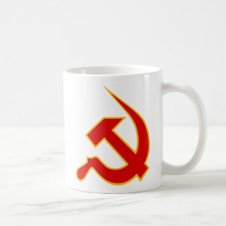 Red & Yellow Neo-Hammer & Sickle Coffee Mug