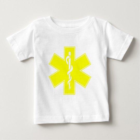 Red Yellow Orange White Nurse EMS Star of Life Baby T-Shirt