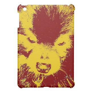 Red & Yellow Pomeranian iPad Mini Covers