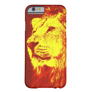 Red Yellow Pop Art Lion iPhone 6 Case
