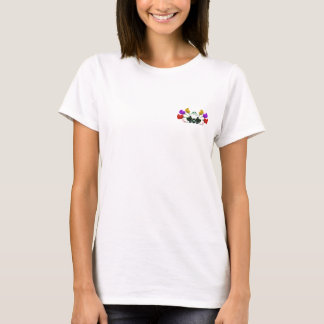 Red, Yellow, Purple Rose Buds T-Shirt