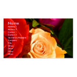 Red Yellow Rose Artist I Business Card Business Cards