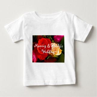 Red Yellow Rose Baby T-Shirt