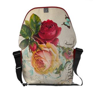 Red & Yellow Rose Bag Messenger Bags