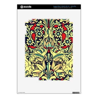 Red Yellow Rose Floral Design iPad 3 Decal